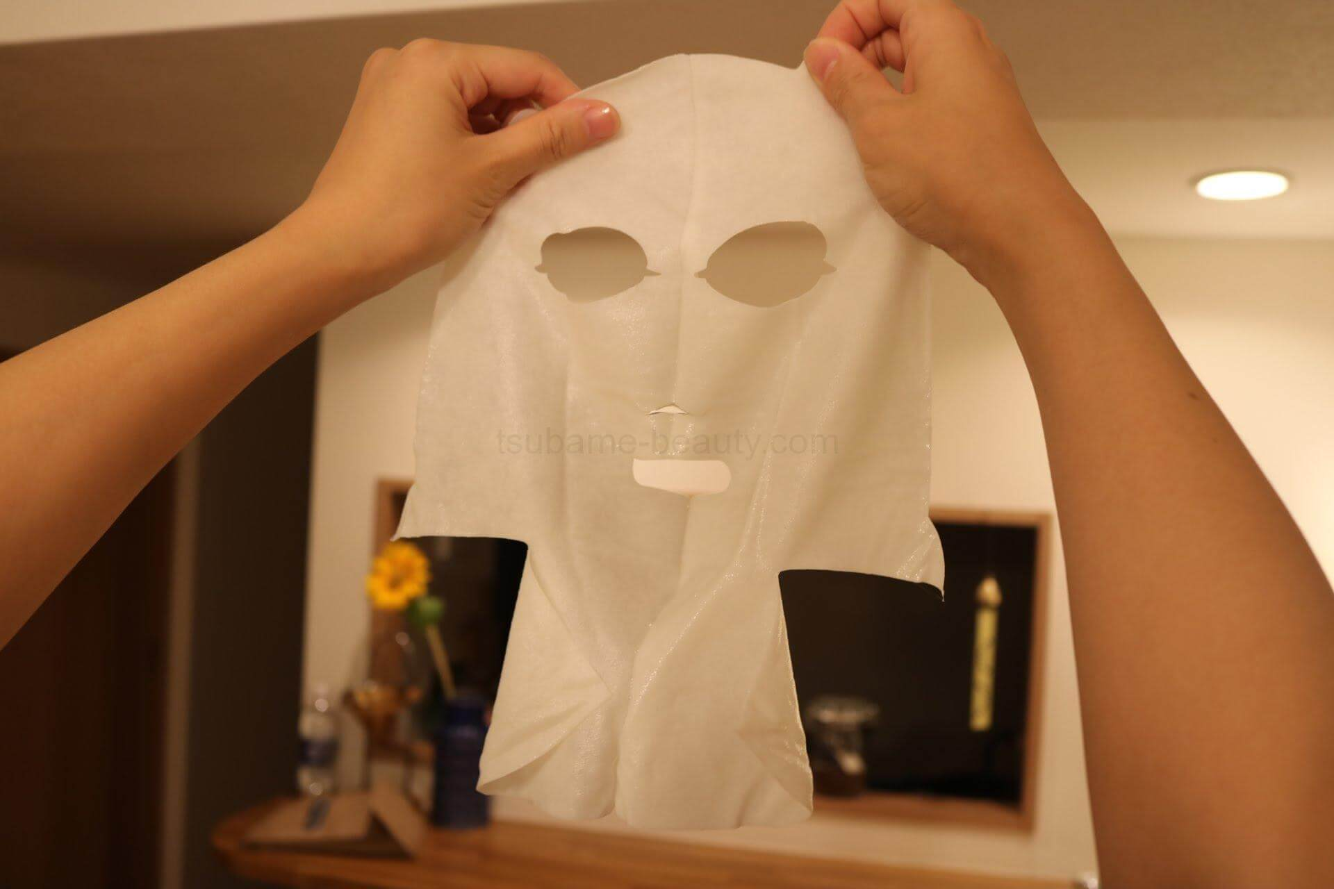 美巣フェイスマスクの内側